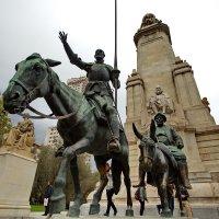 Дон Кихот и Санчо Пансо...Мадрид. :: Александр Вивчарик