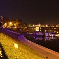 """Вечерний """"Старый"""" мост. :: Артем Колеров"""