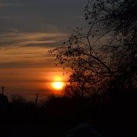 рассвет в деревне :: Irina Petrova