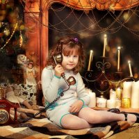 Дедушка Мороз ,это Полиночка... :: Наташа Родионова