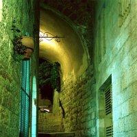 Улица в Старом городе. Еврейский кварртал. Иерусалим. :: Игорь Герман