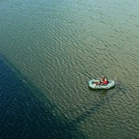 ...и один в море-рыбак... :: Александр Садовский