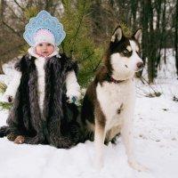 Маленькая Маша и красавчик Грей :: Жанна Шишкина
