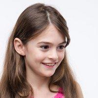 Девочка в розовом :: Ирина Архипова