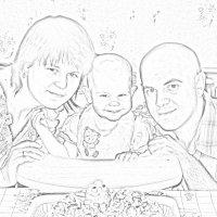 Первый День Рождения лапочки дочки :: Sergey Rat