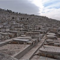 Древнее еврейское кладбище на Масличной горе. Иерусалим. :: Lmark