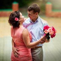 Розовая свадьба :: Марина Чурганова
