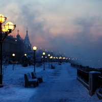 Иркутск вечерний...и морозный :: Александр | Матвей БЕЛЫЙ