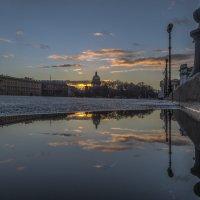 С последним отблеском заката уходит день :: Valeriy Piterskiy