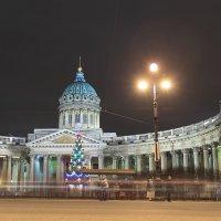 Новогодний Казанский собор :: Михаил Лесин