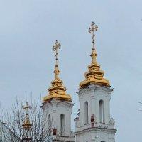 Дождливое воскресенье,Витебск :: Людмила Комарова