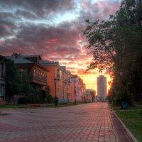 Закат на чумбаровке. :: Александр Хвостов