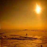 Карагандинская степь зимой :: Александр Симаков