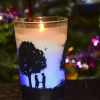 Новогодняя свеча. :: юрий Амосов