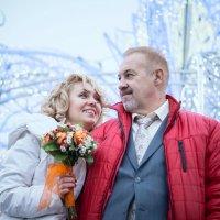 Зимняя сказка для двоих :: Irina Evushkina