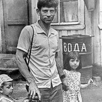 Я с отцом и сестрой :: Дмитрий Редьков