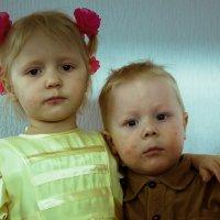 Братишка с сестрёнкой :: Sergey Kuznetcov