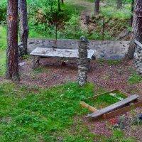 столб из камней в лесу :: Андрей Хлопин