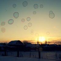 И солнце цветное внутри, сквозь мыльные пузыри... :: Лиса Алиса
