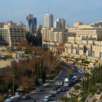 Иерусалим. Вид на город со стены Старого города. Мамилла. :: Игорь Герман
