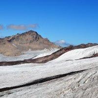 Ледник на Эльбрусе. :: Александр Яценко