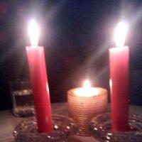 Гадания в рождественскую ночь :: Надежда Мясникова