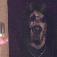 merry xmas, Ozzy-dog :: Christina Z.
