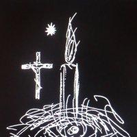 """""""Рождество"""" - рисунок Владимира Павлова... :: Владимир Павлов"""