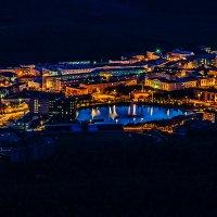 Огни маленького городка :: Александр Неустроев