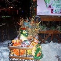 Новогодняя повозка :: юрий Амосов