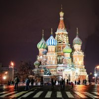 Храм Василия Блаженного :: Марина Назарова