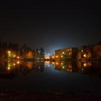 Г.Юбилейный,ночное озеро :: Анастасия Кучина
