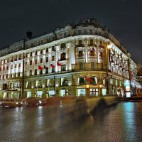 моя столица ночная москва(отель националь) :: юрий макаров