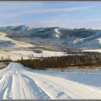 Предзакатный пейзаж :: Николай