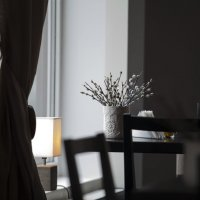 Весенне утро  в кафе Юрмалы :: Oleg Mechetin