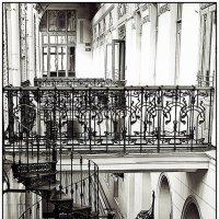 винтовая лестница :: ник. петрович земцов