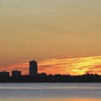 Закат на озере Разлив :: Александр Капустин