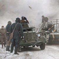 Передовой отряд... :: Борис Соломатин
