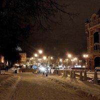 Огоньки на площади :: Сергей Банков