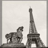Эйфелева башня Париж Франция :: Валентина Потулова