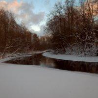 Зимний вечер на реке. :: Иван Морозов