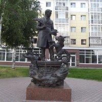 Тобольск памятник Ершову :: Светлана Белоусова