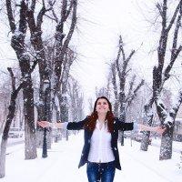 ураааа снег :: Maxim Smiridi