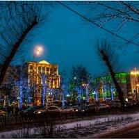 Вечерние огни города :: Аркадий Фиксаж
