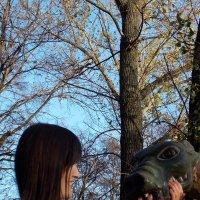 позитив рядом с драконом... :: Валерия Кашуба