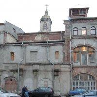 Церковь Илии Пророка на бывш. Новгородском подворье :: Александр Качалин