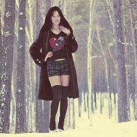 зима, девушка :: Саша Балабаев