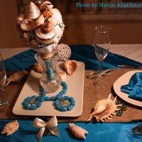Свадебный декор - морской стиль :: Marina Kharitonova