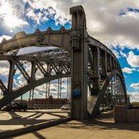 Большеохтинский (Петра Великого) мост :: Александр Неустроев