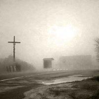 Туманное утро :: vladimir kindenoff